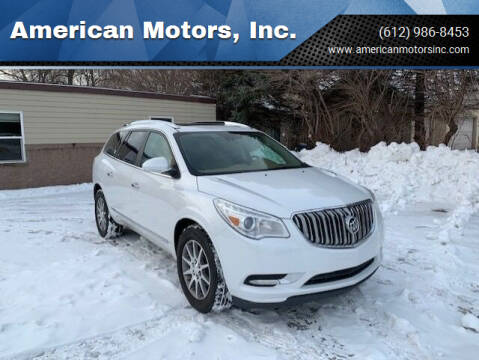 2017 Buick Enclave for sale at American Motors, Inc. in Farmington MN