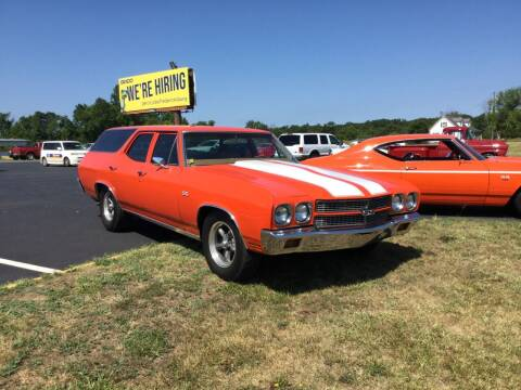 1970 Chevrolet Malibu for sale at Burton's Automotive in Fredericksburg VA