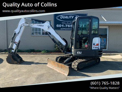 2015 Bobcat E32 for sale at Quality Auto of Collins in Collins MS