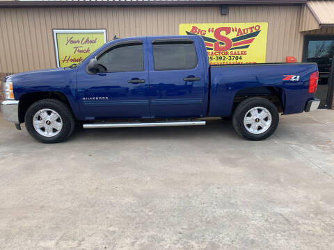 2013 Chevrolet Silverado 1500 for sale at BIG 'S' AUTO & TRACTOR SALES in Blanchard OK
