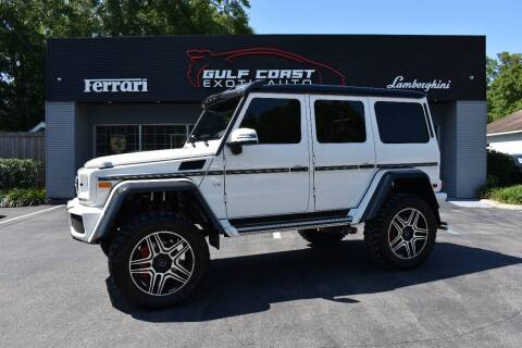 2017 Mercedes-Benz G-Class for sale at Gulf Coast Exotic Auto in Biloxi MS
