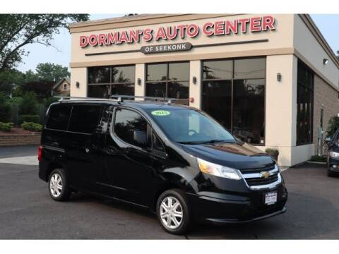 2015 Chevrolet City Express Cargo for sale at DORMANS AUTO CENTER OF SEEKONK in Seekonk MA