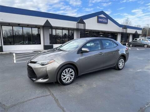 2019 Toyota Corolla for sale at Impex Auto Sales in Greensboro NC