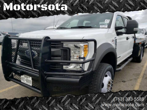 2017 Ford F-450 Super Duty for sale at Motorsota in Becker MN