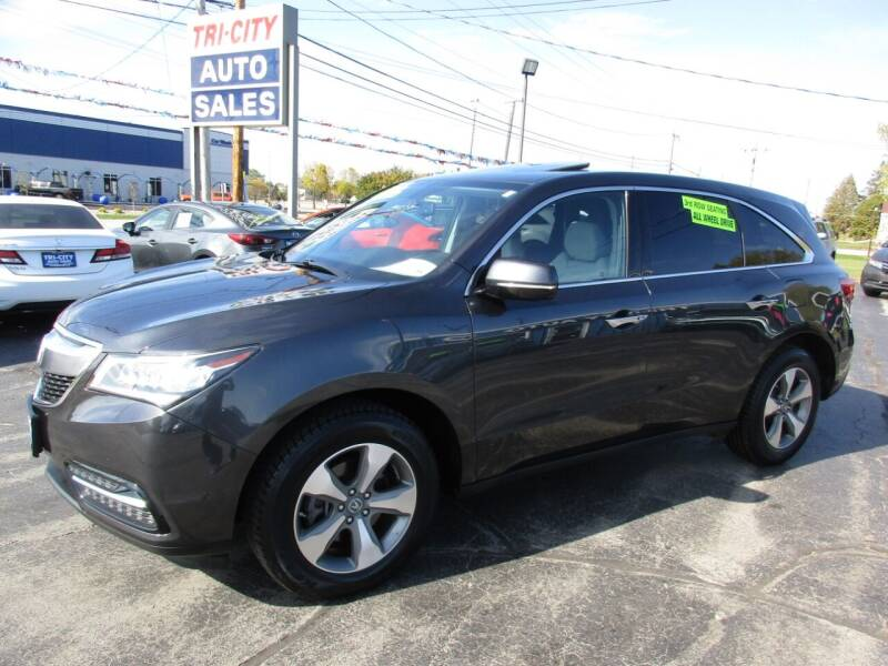 2015 Acura MDX for sale at TRI CITY AUTO SALES LLC in Menasha WI