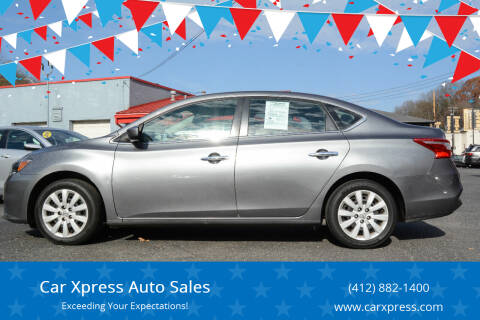 2018 Nissan Sentra for sale at Car Xpress Auto Sales in Pittsburgh PA