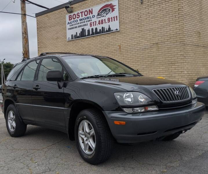 2000 Lexus RX 300 for sale at Boston Auto World in Quincy MA