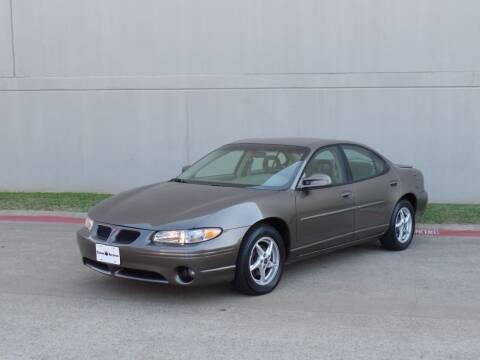 2003 Pontiac Grand Prix for sale at CROWN AUTOPLEX in Arlington TX