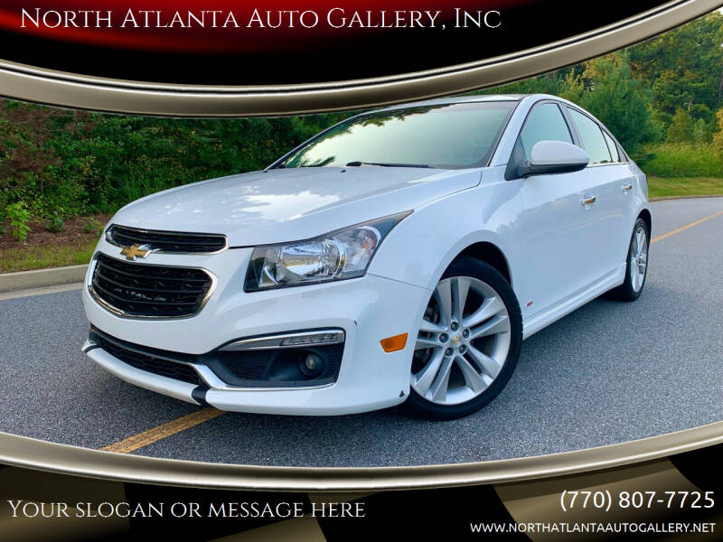 2015 Chevrolet Cruze for sale at North Atlanta Auto Gallery, Inc in Alpharetta GA
