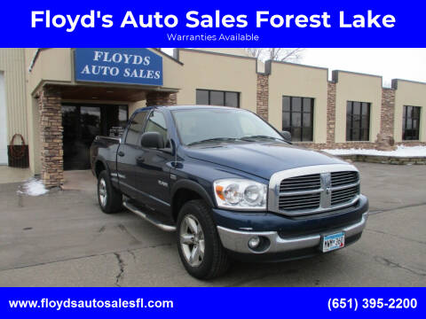 2008 Dodge Ram Pickup 1500 for sale at Floyd's Auto Sales Forest Lake in Forest Lake MN