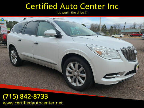 2017 Buick Enclave for sale at Certified Auto Center Inc in Wausau WI