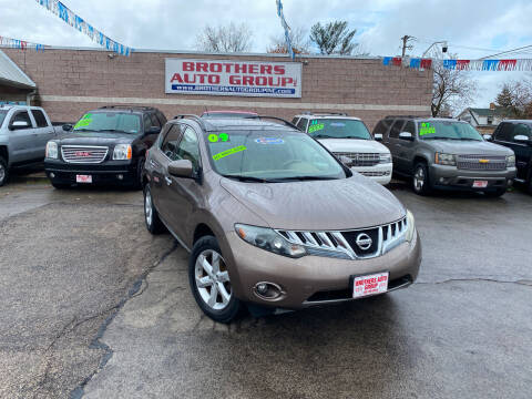 2009 Nissan Murano for sale at Brothers Auto Group in Youngstown OH