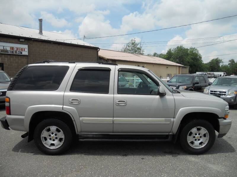 2004 Chevrolet Tahoe for sale at All Cars and Trucks in Buena NJ