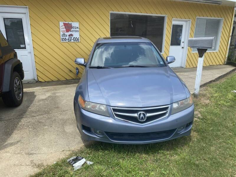 2007 Acura TSX for sale at THE COLISEUM MOTORS in Pensacola FL