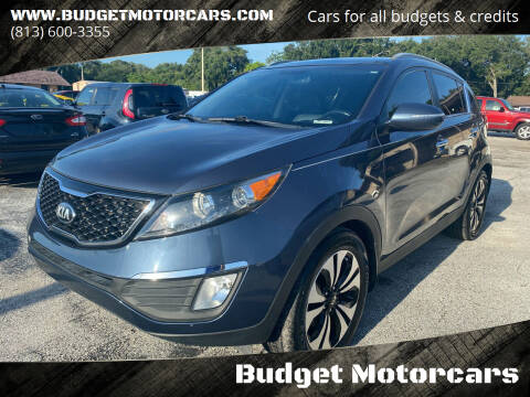2013 Kia Sportage for sale at Budget Motorcars in Tampa FL