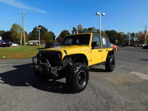 2008 Jeep Wrangler Unlimited for sale at Paniagua Auto Mall in Dalton GA