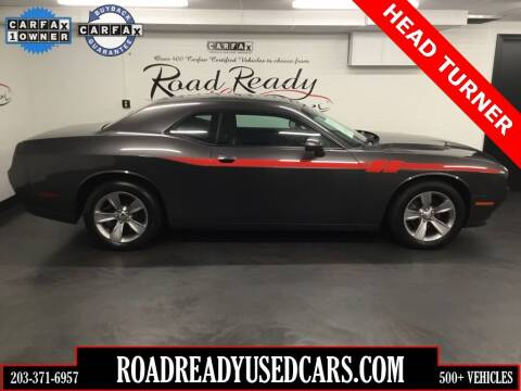 2016 Dodge Challenger for sale at Road Ready Used Cars in Ansonia CT