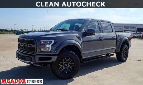 2018 Ford F-150 for sale at Meador Dodge Chrysler Jeep RAM in Fort Worth TX