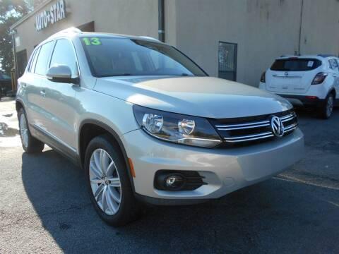 2013 Volkswagen Tiguan for sale at AutoStar Norcross in Norcross GA