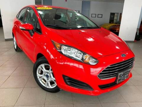 2015 Ford Fiesta for sale at Cj king of car loans/JJ's Best Auto Sales in Troy MI