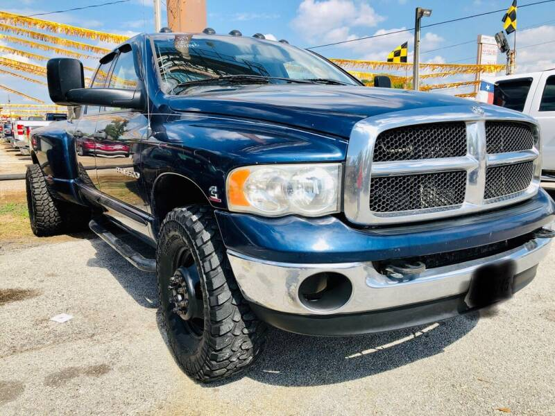 2005 Dodge Ram Pickup 3500 for sale at Lion Auto Finance in Houston TX