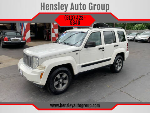 2008 Jeep Liberty for sale at Hensley Auto Group in Middletown OH