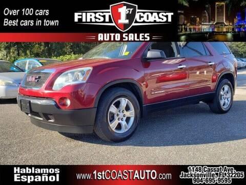 2008 GMC Acadia for sale at 1st Coast Auto -Cassat Avenue in Jacksonville FL