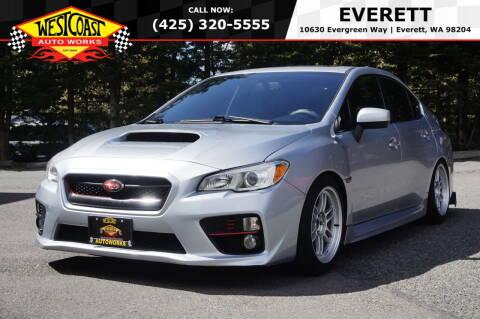 2015 Subaru WRX for sale at West Coast Auto Works in Edmonds WA