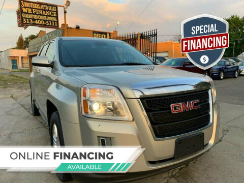 2014 GMC Terrain for sale at 3 Brothers Auto Sales Inc in Detroit MI