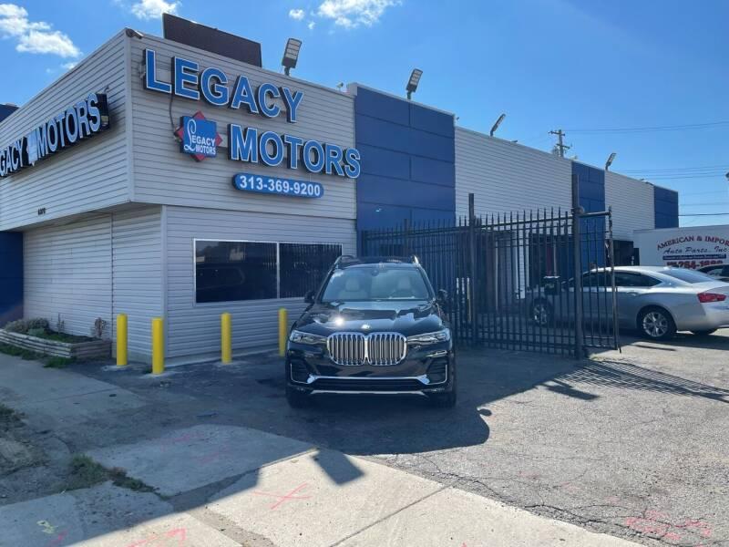 2021 BMW X7 for sale at Legacy Motors in Detroit MI