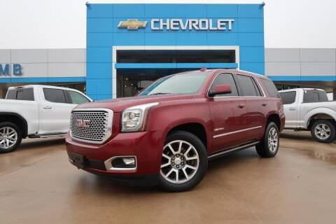 2016 GMC Yukon for sale at Lipscomb Auto Center in Bowie TX