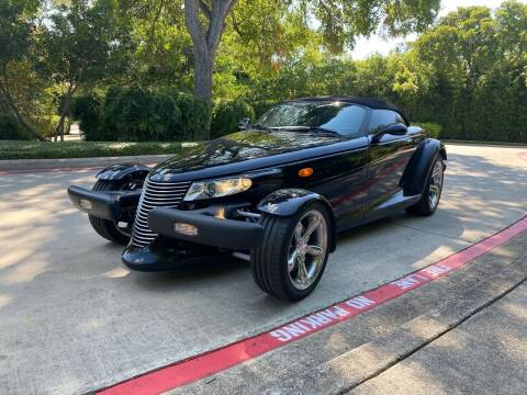 2000 Plymouth Prowler for sale at Motorcars Group Management - Bud Johnson Motor Co in San Antonio TX