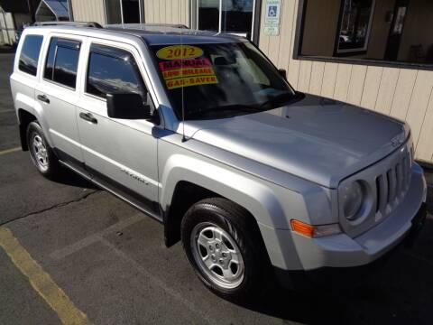2012 Jeep Patriot for sale at BBL Auto Sales in Yakima WA