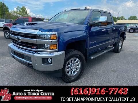 2019 Chevrolet Silverado 3500HD for sale at West Michigan Auto and Truck Center in Cedar Springs MI