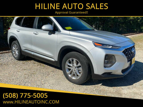 2019 Hyundai Santa Fe for sale at HILINE AUTO SALES in Hyannis MA