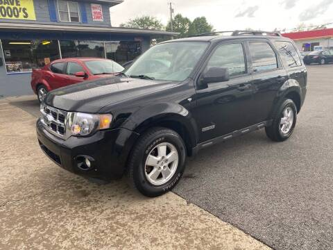 2008 Ford Escape for sale at Wise Investments Auto Sales in Sellersburg IN