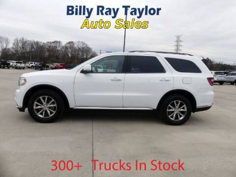 2016 Dodge Durango for sale at Billy Ray Taylor Auto Sales in Cullman AL