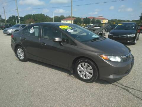 2012 Honda Civic for sale at Kelly & Kelly Supermarket of Cars in Fayetteville NC