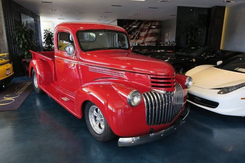 1946 Chevrolet 3100 for sale at OC Autosource in Costa Mesa CA