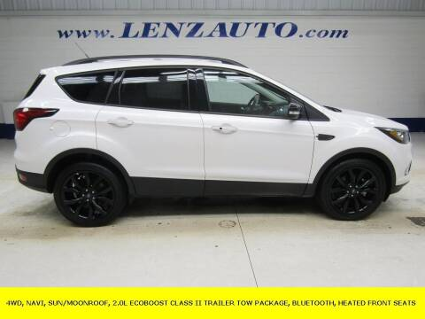 2019 Ford Escape for sale at LENZ TRUCK CENTER in Fond Du Lac WI