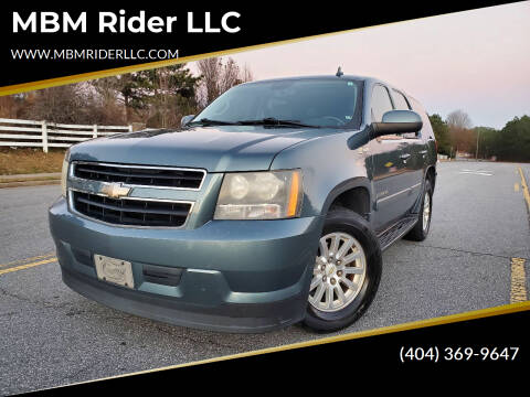 2009 Chevrolet Tahoe for sale at MBM Rider LLC in Alpharetta GA