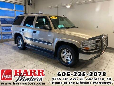 2006 Chevrolet Tahoe for sale at Harr's Redfield Ford in Redfield SD