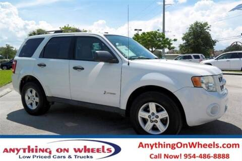 2012 Ford Escape Hybrid for sale at JumboAutoGroup.com - Anythingonwheels.com in Oakland Park FL