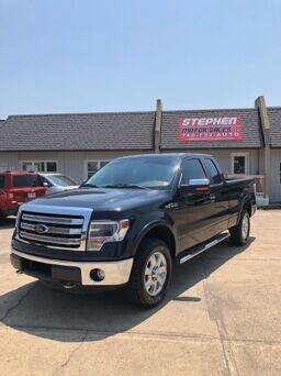 2013 Ford F-150 for sale at Stephen Motor Sales LLC in Caldwell OH
