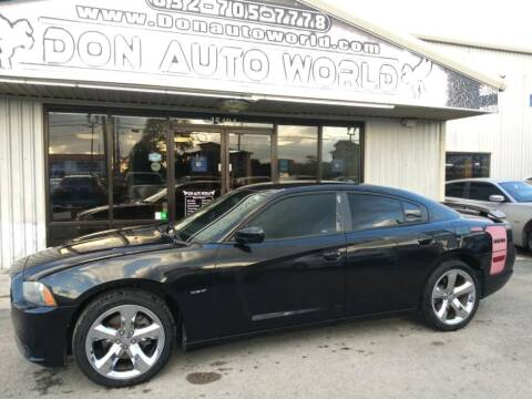 2011 Dodge Charger for sale at Don Auto World in Houston TX