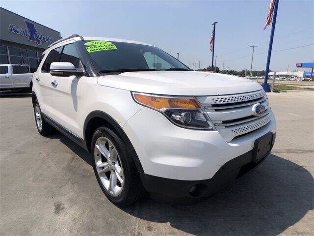 2012 Ford Explorer for sale at Show Me Auto Mall in Harrisonville MO