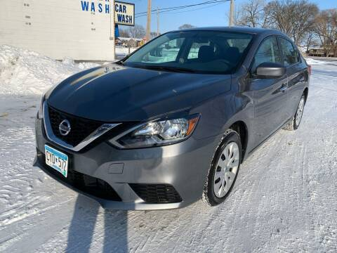 2019 Nissan Sentra for sale at ONG Auto in Farmington MN