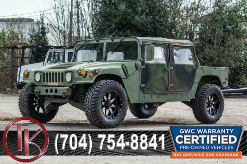1991 AMG M998 HUMVEE HUMVEE H1 M998 for sale at T.K. AUTO SALES LLC in Salisbury NC