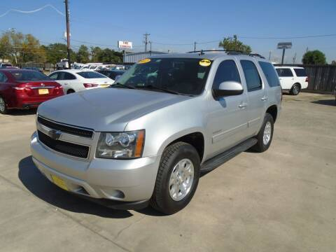 2012 Chevrolet Tahoe for sale at BAS MOTORS in Houston TX