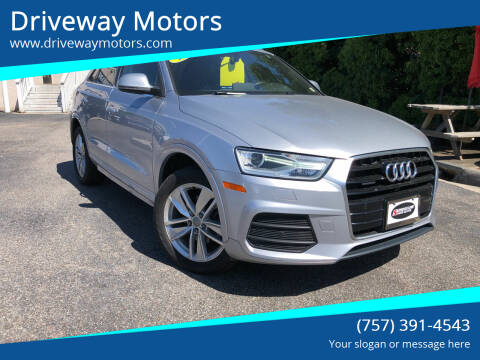 2017 Audi Q3 for sale at Driveway Motors in Virginia Beach VA